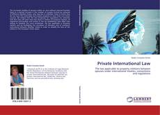 Bookcover of Private International Law
