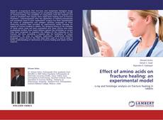 Buchcover von Effect of amino acids on fracture healing: an experimental model