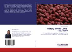 Bookcover of History of Ode-Lemo   1800-1960