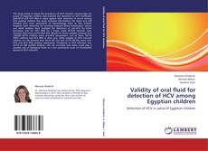 Обложка Validity of oral fluid for detection of HCV among Egyptian children