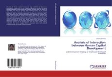 Обложка Analysis of Interaction between Human Capital Development