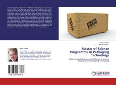 Portada del libro de Master of Science Programme in Packaging Technology