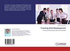Bookcover of Training And Development