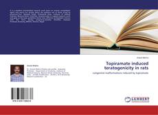 Bookcover of Topiramate induced teratogenicity in rats