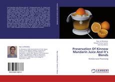 Portada del libro de Preservation Of Kinnow Mandarin Juice And It's Blends