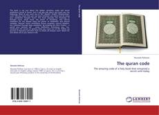 Bookcover of The quran code
