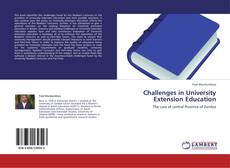 Bookcover of Challenges in University Extension Education
