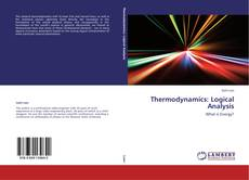 Thermodynamics: Logical Analysis kitap kapağı