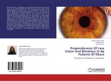 Bookcover of Preponderance Of Low Vision And Blindness In Rp Patients Of Okara