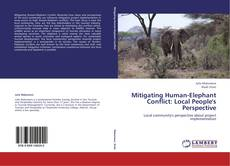 Capa do livro de Mitigating Human-Elephant Conflict: Local People's Perspective
