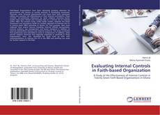 Buchcover von Evaluating Internal Controls in Faith-based Organization