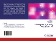 Capa do livro de Energy Effieicnt AOMDV Routing Protocol