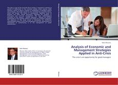 Bookcover of Analysis of Economic and Management Strategies Applied in Anti-Crisis