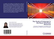 Bookcover of The Study of language in the Oscar Cinematic Discourse