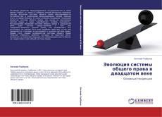 Эволюция системы общего права в двадцатом веке kitap kapağı