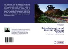 Bookcover of Determination of Lateral Dispersion of Gaseous Pollutants