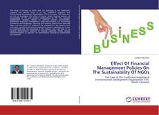 Buchcover von Effect Of Financial Management Policies On The Sustainability Of NGOs