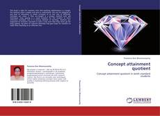Bookcover of Concept attainment quotient