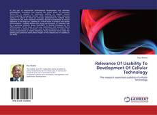 Couverture de Relevance Of Usability To Development Of Cellular Technology
