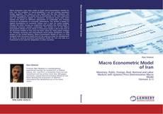 Macro Econometric Model of Iran kitap kapağı