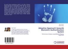 Capa do livro de Adaptive Approach towards Biometric Authentication System