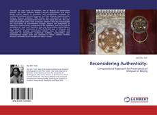 Bookcover of Reconsidering Authenticity: