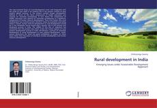 Buchcover von Rural development in India