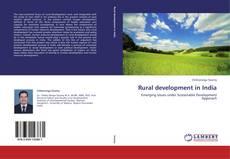 Portada del libro de Rural development in India