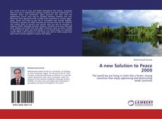 Buchcover von A new Solution to Peace 2000