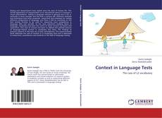 Bookcover of Context in Language Tests