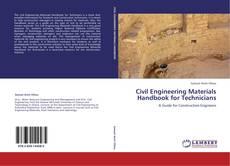 Civil Engineering Materials Handbook for Technicians的封面