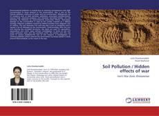 Bookcover of Soil Pollution / Hidden effects of war