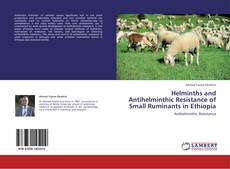 Capa do livro de Helminths and Antihelminthic Resistance of Small Ruminants in Ethiopia
