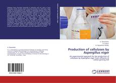 Bookcover of Production of cellulases by Aspergillus niger