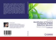 Buchcover von Identification of Chemical Constituents of Plant Hedychium Spicatum