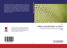 Capa do livro de Policy Coordination in China