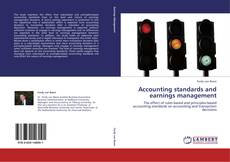Accounting standards and earnings management kitap kapağı