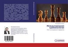 Международная криминология的封面