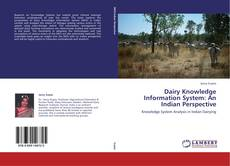 Bookcover of Dairy Knowledge Information System: An Indian Perspective
