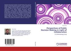 Bookcover of Perspectives of Public Decision Making in Light of Collaboration