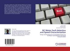 Bookcover of DC Motor fault detection and Speed Characterization