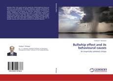 Bullwhip effect and its behavioural causes的封面