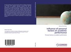 Bookcover of Influence of personal factors on academic performance