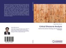 Copertina di Critical Discourse Analysis
