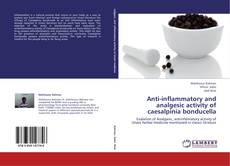 Copertina di Anti-inflammatory and analgesic activity of caesalpinia bonducella