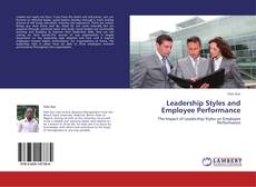 Buchcover von Leadership Styles and Employee Performance