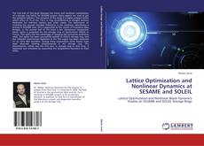 Bookcover of Lattice Optimization and Nonlinear Dynamics at SESAME and SOLEIL