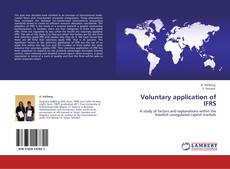 Bookcover of Voluntary application of IFRS