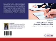 Portada del libro de Note-taking: A Key to Listening Comprehension