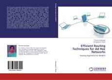 Bookcover of Efficient Routing Techniques for Ad Hoc Networks